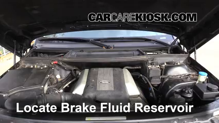 Add Brake Fluid: 2003-2012 Land Rover Range Rover - 2004