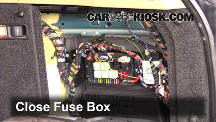 interior fuse box location: 2003-2012 land rover range rover - 2004 land rover  range rover hse 4 4l v8