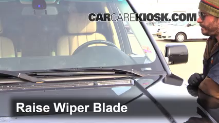 2004 Land Rover Range Rover HSE 4.4L V8 Windshield Wiper Blade (Front) Replace Wiper Blades