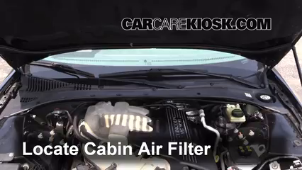 Cabin Filter Replacement: Lincoln LS 2000-2006 - 2004 ...