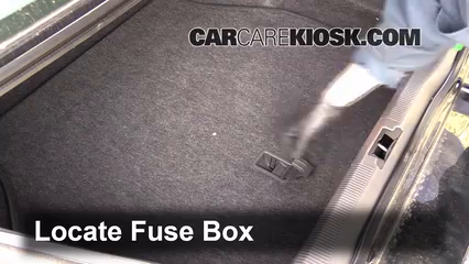 2000-2006 lincoln ls interior fuse check
