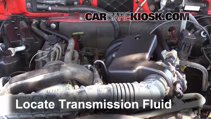 2004 Mazda B3000 SE 3.0L V6 Transmission Fluid Add Fluid