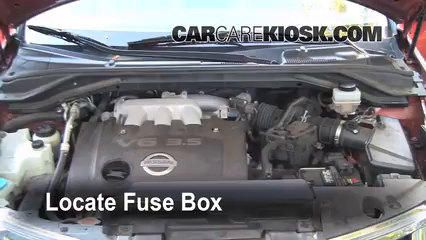 2004 Nissan Murano SL 3.5L V6%2FFuse Engine Part 1 murano fuse box sebring fuse box \u2022 wiring diagrams j squared co  at bakdesigns.co
