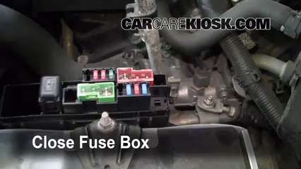 2004 Nissan Murano SL 3.5L V6%2FFuse Engine Part 2 blown fuse check 2003 2007 nissan murano 2004 nissan murano sl House Fuse Box Location at gsmx.co