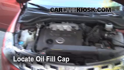how to change air filter on 2003 nissan murano