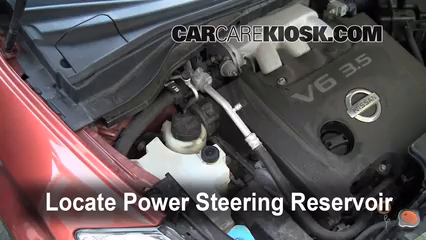 Power Steering Leak Fix: 2003-2007 Nissan Murano - 2004 Nissan
