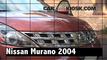 2004 Nissan Murano SL 3.5L V6 Review
