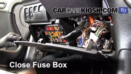 interior fuse box location: 2000-2005 peugeot 206 - 2004 peugeot 206 xs  2 0l 4 cyl  turbo diesel