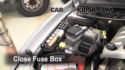 replace a fuse 2008 2009 pontiac g8 2009 pontiac g8 gt 6 0l v8 breaker box 6 replace cover secure the cover and test component
