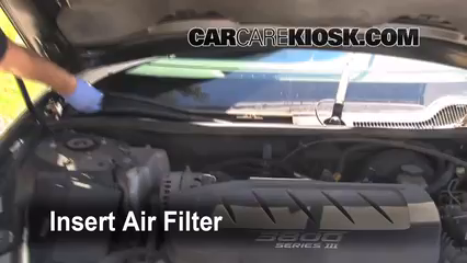 2005-2009 Buick LaCrosse Cabin Air Filter Check - 2005 ...