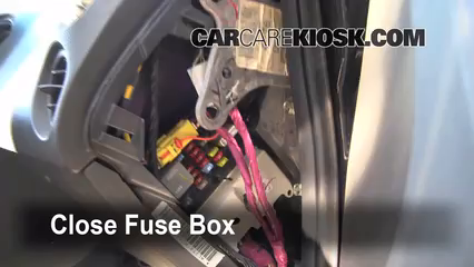 interior fuse box location 2004 2008 pontiac grand prix. Black Bedroom Furniture Sets. Home Design Ideas