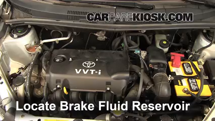 2004 Scion xA 1.5L 4 Cyl. Brake Fluid