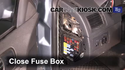 interior fuse box location: 2002-2006 skoda fabia - 2004 skoda fabia ten  1 2l 3 cyl