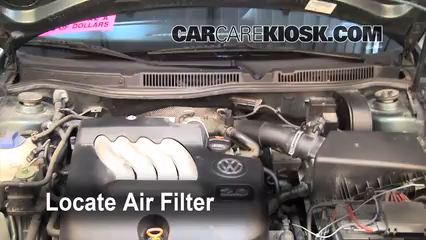 2004 Volkswagen Jetta GL 2.0L 4 Cyl. Sedan Air Filter (Cabin)