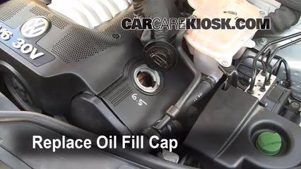 motor oil for 2003 vw passat v6
