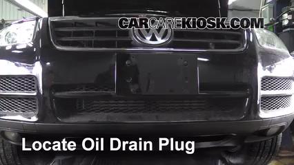 2013 volkswagen touareg tdi oil change