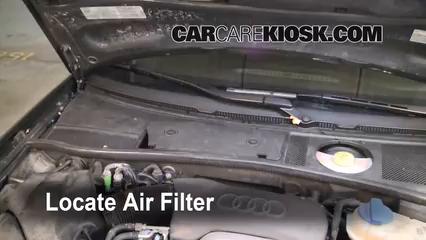 2004 Audi A6 3.0L V6 Filtre à air (intérieur)
