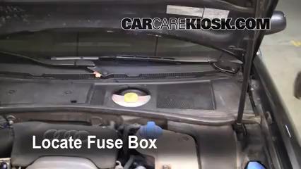2004 Audi A6 3.0L V6 Fusible (moteur)