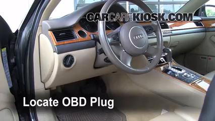 2004 Audi A8 Quattro L 4.2L V8 Lumière « Check engine » du moteur