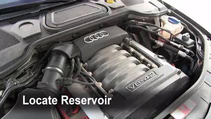 2004 Audi A8 Quattro L 4.2L V8 Liquide essuie-glace
