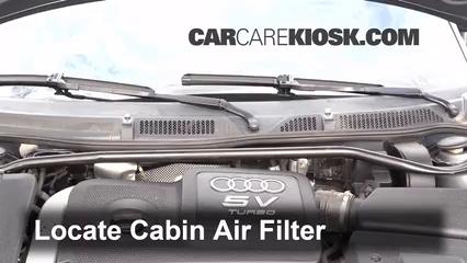2004 Audi TT Quattro 1.8L 4 Cyl. Turbo Convertible Air Filter (Cabin)