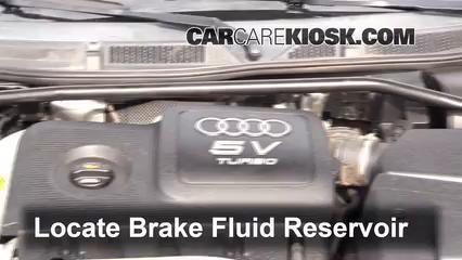 2004 Audi TT Quattro 1.8L 4 Cyl. Turbo Convertible Brake Fluid
