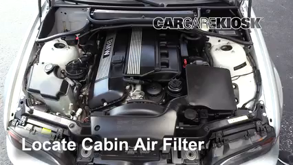2004 BMW 330Ci 3.0L 6 Cyl. Convertible Filtre à air (intérieur)