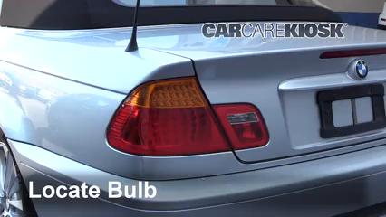 2004 BMW 330Ci 3.0L 6 Cyl. Convertible Éclairage