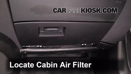 2004 BMW Z4 2.5i 2.5L 6 Cyl. Filtre à air (intérieur)