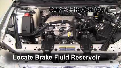 2004 Buick Century Custom 3.1L V6 Líquido de frenos