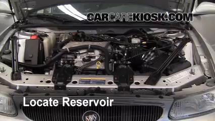 2004 Buick Century Custom 3.1L V6 Líquido limpiaparabrisas