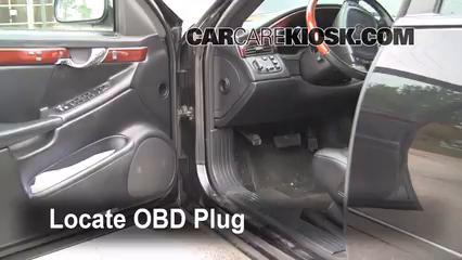 2004 Cadillac DeVille DTS 4.6L V8 Compruebe la luz del motor