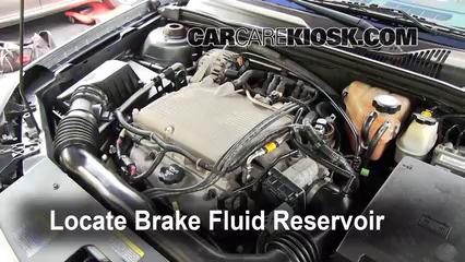 2004 Chevrolet Malibu LS 3.5L V6 Brake Fluid