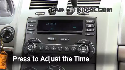 2004 Chevrolet Malibu LS 3.5L V6 Clock