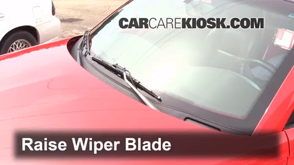 2004 Chevrolet SSR 5.3L V8 Windshield Wiper Blade (Front)