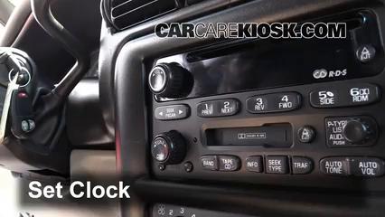 2004 Chevrolet Venture LS 3.4L V6 Reloj
