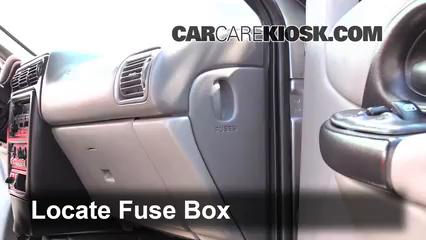 2004 Chevrolet Venture LS 3.4L V6 Fusible (interior)