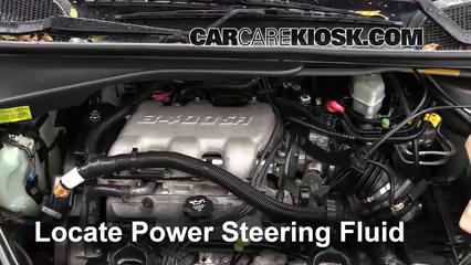2004 Chevrolet Venture LS 3.4L V6 Líquido de dirección asistida