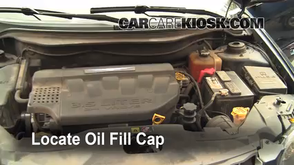2004 Chrysler Pacifica 3.5L V6 Oil