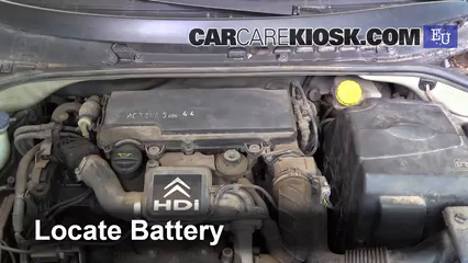 2004 Citroen C3 SX 1.4L 4 Cyl. Turbo Diesel Batterie
