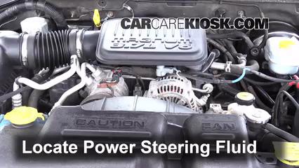 2004 Dodge Dakota Sport 3.7L V6 Crew Cab Pickup (4 Door) Power Steering Fluid