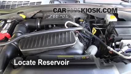 2004 Dodge Durango SLT 5.7L V8 Windshield Washer Fluid