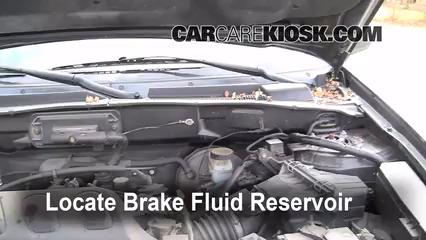 2004 Ford Escape Limited 3.0L V6 Brake Fluid