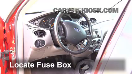2004 Ford Focus ZTS 2.3L 4 Cyl. Fusible (intérieur)