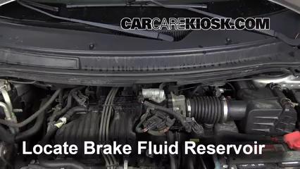 2004 Ford Freestar SEL 4.2L V6 Líquido de frenos Controlar nivel de líquido