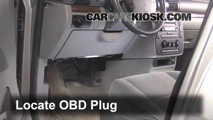 2004 Ford Freestar SEL 4.2L V6 Compruebe la luz del motor Diagnosticar