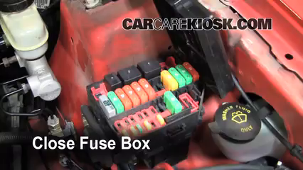 Blown Fuse Check 1994-2004 Ford Mustang - 2004 Ford Mustang 3.9L V6 Coupe | Turm Signal Fuse On A 2004 Mustang Gt |  | CarCareKiosk
