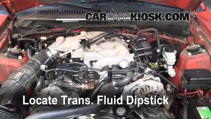2004 Ford Mustang 3.9L V6 Coupe Liquide de transmission