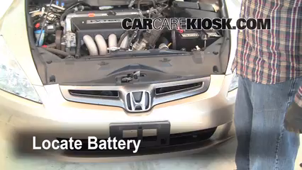 2004 Honda Accord EX 2.4L 4 Cyl. Sedan (4 Door) Batterie
