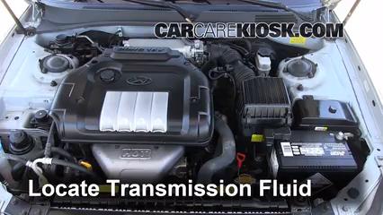 2004 Hyundai Sonata 2.4L 4 Cyl. Liquide de transmission